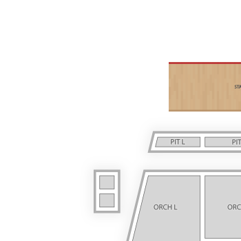 Fitzgerald theater seating chart theater map seatgeek