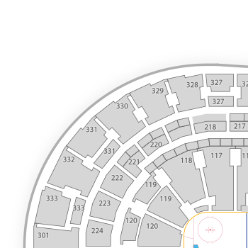 Bridgestone arena seating chart seatgeek