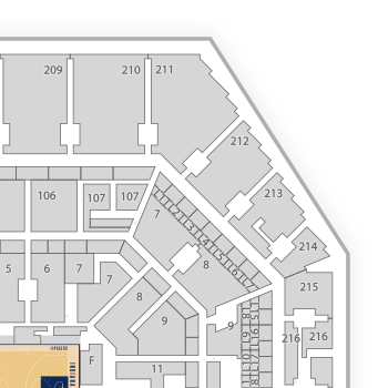 Bankers life fieldhouse seating chart map seatgeek