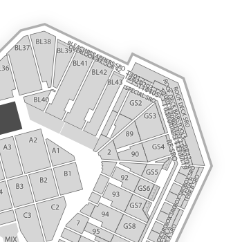 Fenway park seating chart concert map seatgeek