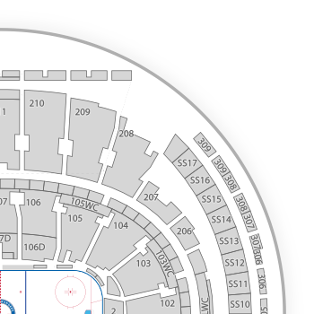 New york rangers seating chart map seatgeek