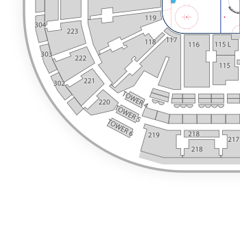 Nationwide arena seating chart map seatgeek
