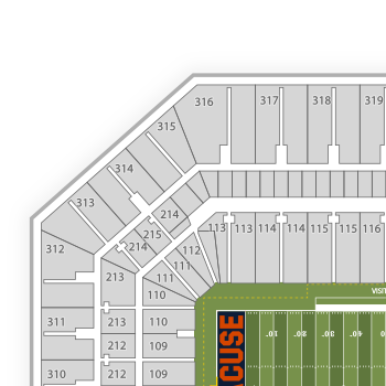 Carrier dome seating chart nhl map seatgeek