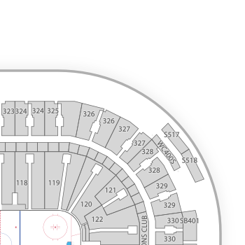 Vancouver canucks seating chart map seatgeek