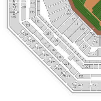 Philadelphia Phillies Seating Chart Map Seatgeek