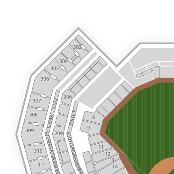 Texas Rangers Seating Chart Find Tickets