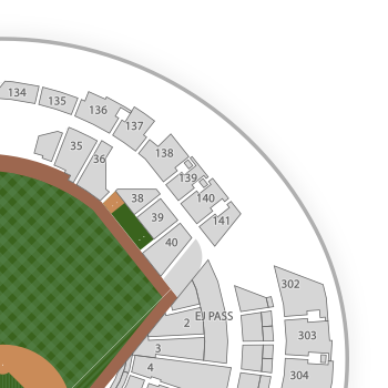 Marlins park seating chart interactive seat map seatgeek publicscrutiny Image collections
