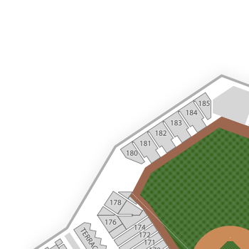 Cleveland indians seating chart map seatgeek