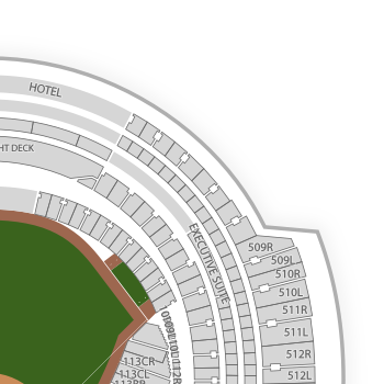 Rogers Centre Seating Chart Interactive Seat Map SeatGeek - Blue jays seating chart