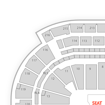 Prudential Center Parking Seating Chart