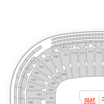 Lambeau field seating chart concert map seatgeek