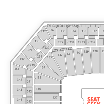 Ford field seating chart concert interactive map seatgeek