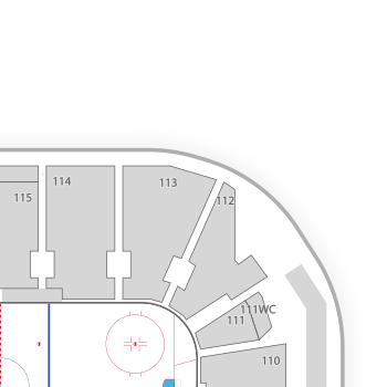 Webster bank arena seating chart map seatgeek