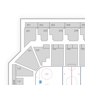 Ontario reign seating chart interactive map seatgeek