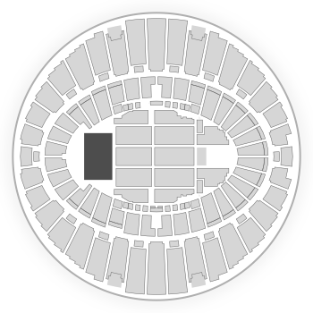 The Forum Seating Chart Concert Map Seatgeek