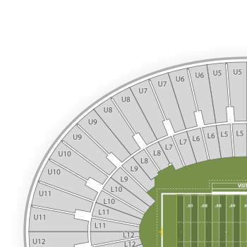 Rose bowl seating chart interactive seat map seatgeek interactive seating charts publicscrutiny Image collections