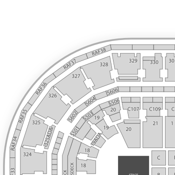 TD Garden Seating Chart Concert Interactive Map SeatGeek