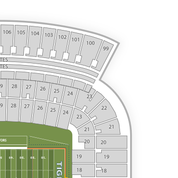 Jordan hare stadium seating chart map seatgeek