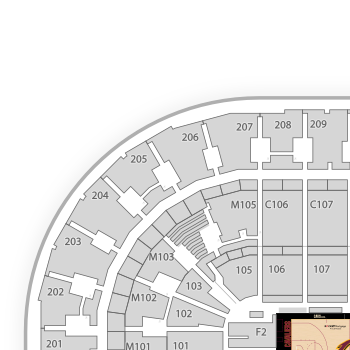 Cleveland cavaliers seating chart map seatgeek