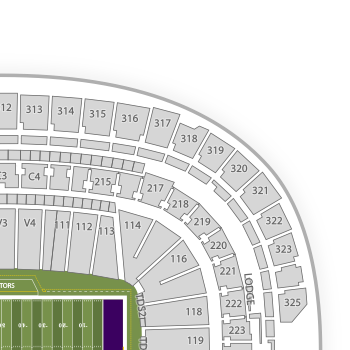 minnesota vikeings seating chart: U s bank stadium seating chart nfl interactive map seatgeek