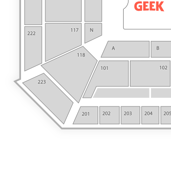 Auburn arena seating chart concert map seatgeek