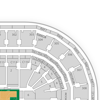 TD Garden Seating Chart Interactive Seat Map SeatGeek