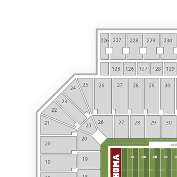 Wvu Football Stadium Seating Map