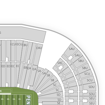 Beaver stadium seating chart interactive seat map seatgeek
