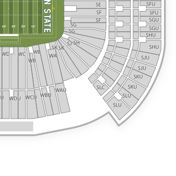 Beaver stadium seating chart map seatgeek