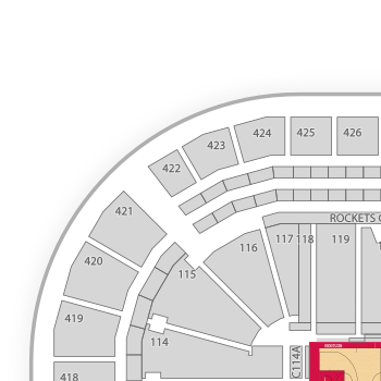 Toyota center seating chart seatgeek
