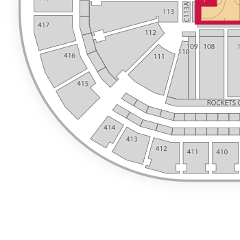 Toyota Center Seating Chart Classical