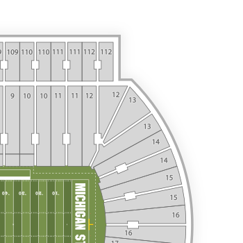 Lane Stadium Seating Chart