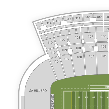 Memorial stadium at faurot field seating chart interactive seat interactive seating charts publicscrutiny Image collections