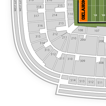 19 Luxury Ou Football Stadium Seating Chart
