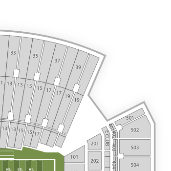 Lane stadium seating chart interactive seat map seatgeek