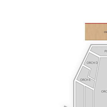 Buell theatre seating chart seatgeek