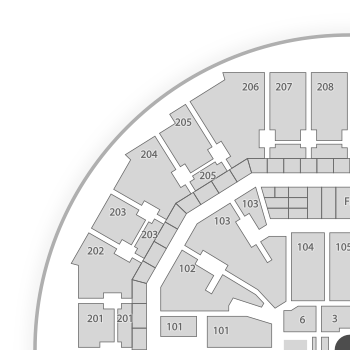 United center seating chart map seatgeek