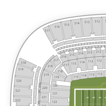 heinz field seating chart interactive seat map seatgeek