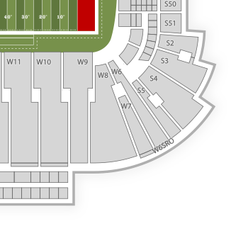 dc united interactive seating chart: Rice eccles stadium seating chart concert interactive map seatgeek
