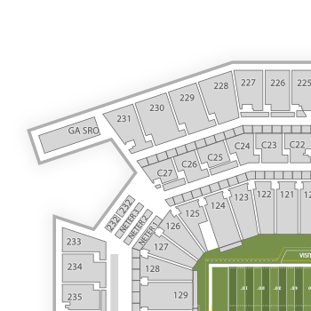 Philadelphia Eagles Seating Chart Map Seatgeek