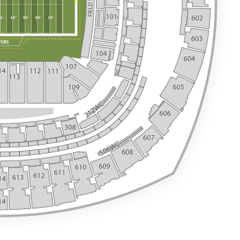 tennessee interactive seating chart: Mercedes benz superdome seating chart interactive seat map