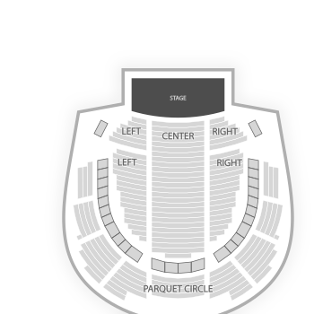 Academy of music seating chart map seatgeek