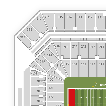 Raymond james stadium seating chart seatgeek