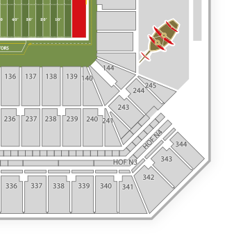 Golden 1 arena Seating Chart