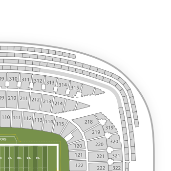 Soldier field seating chart map seatgeek