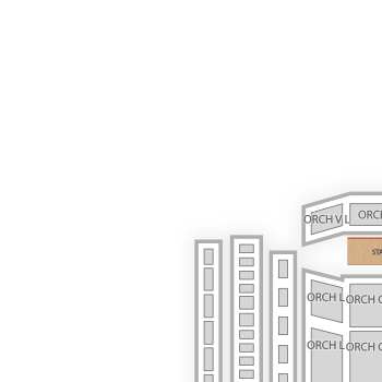 Schermerhorn symphony center seating chart theater map seatgeek